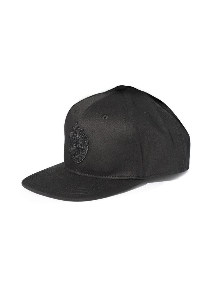 Купить Бейсболка детская Blank Plain X PFC CSKAс эмблемой, прямой козырек, цвет черный по Нижнему Новгороду