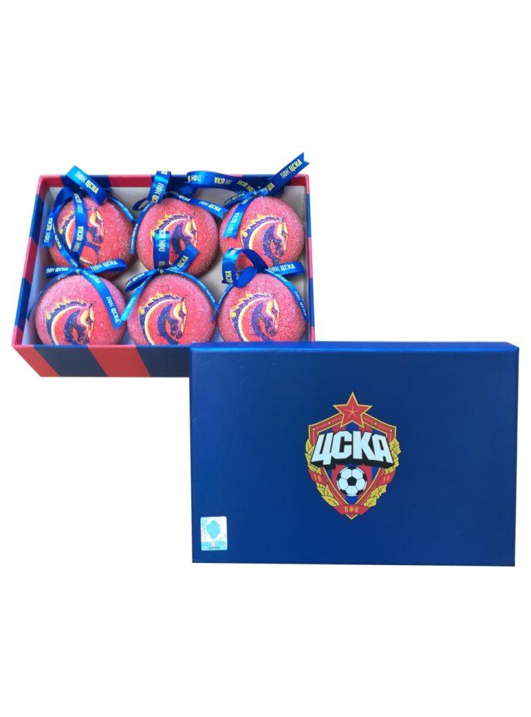 Купить Набор ёлочных шаров «Талисман» цвет красный, (6 штук) по Нижнему Новгороду