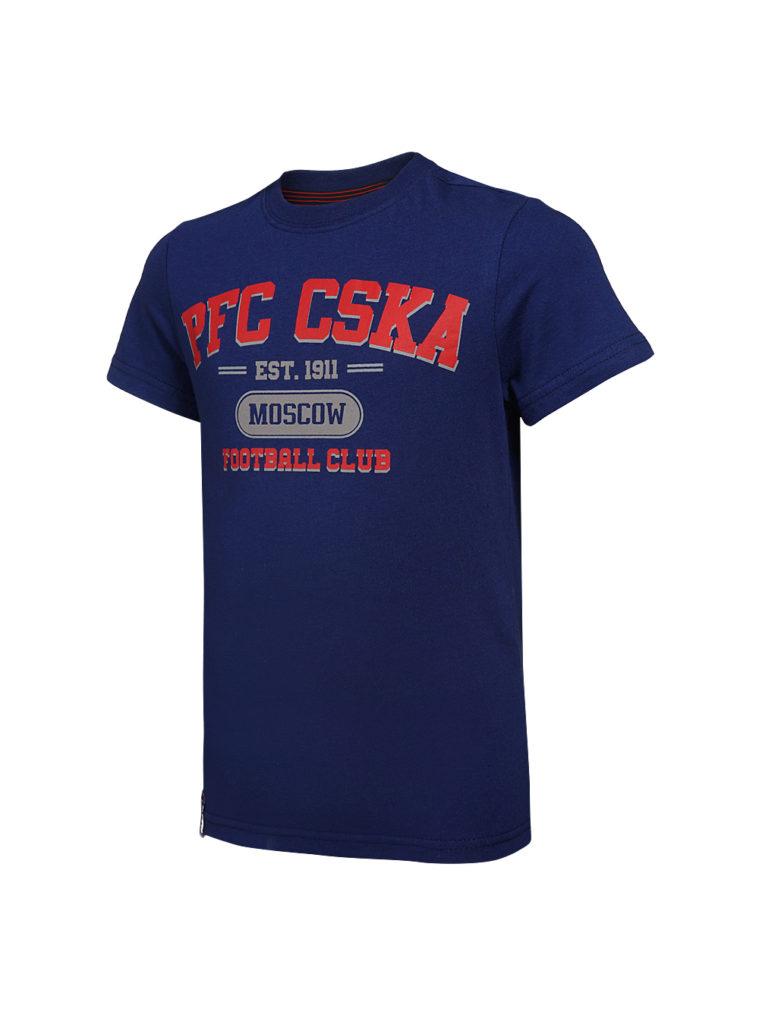 Купить Футболка детская  PFC CSKA Moscow синяя (152) по Нижнему Новгороду