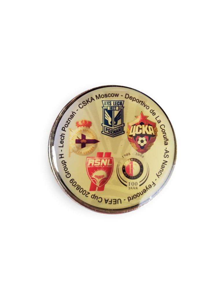 Купить Коллекционный значок Кубок УЕФА 2008-2009 по Нижнему Новгороду