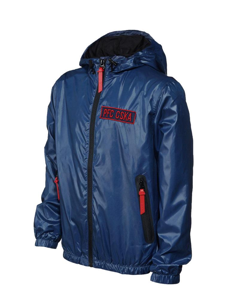 Купить Ветровка детская PFC CSKA, цвет синий (128) по Нижнему Новгороду