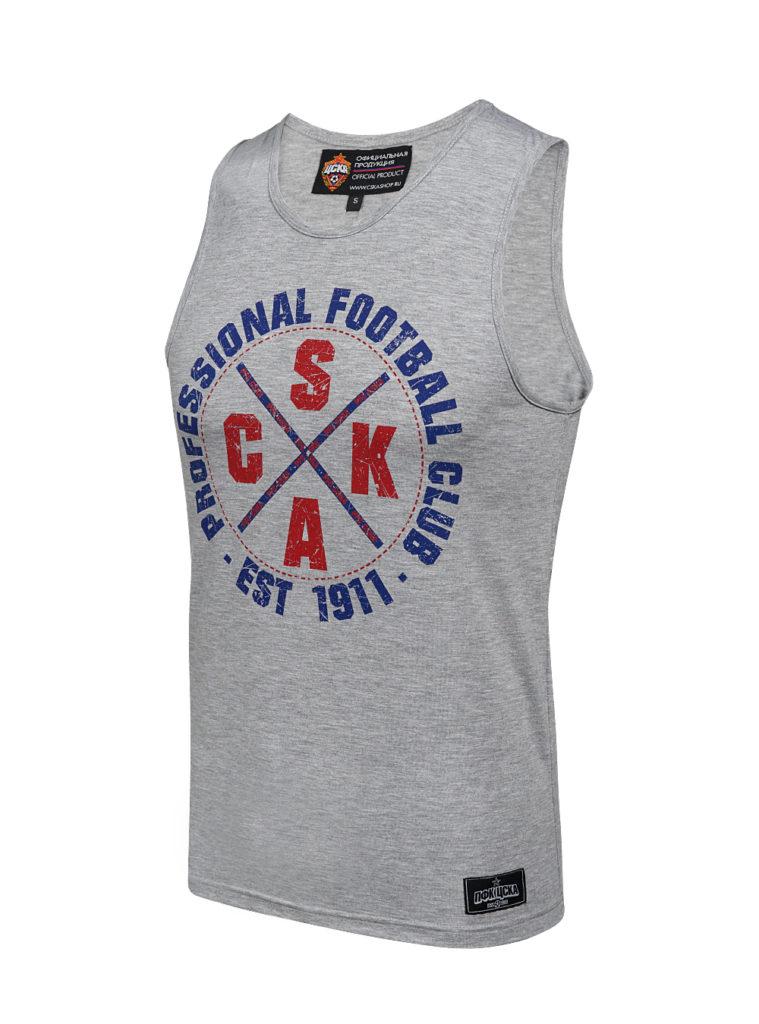 Купить Майка мужская CSKA, цвет серый (S) по Нижнему Новгороду