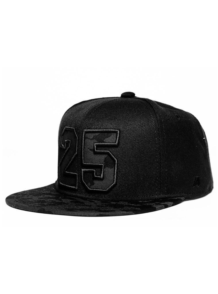 Купить Бейсболка №25 Бистрович, прямой козырек, цвет черный по Нижнему Новгороду