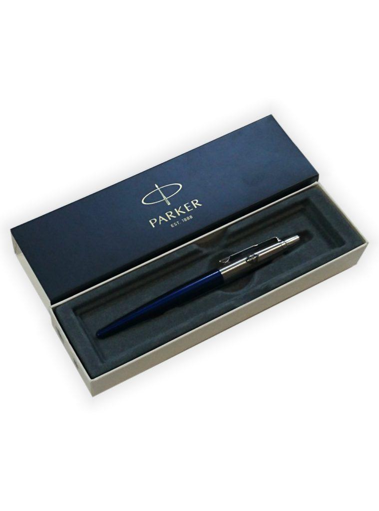 Купить Ручка Parker металлическая, цвет синий по Нижнему Новгороду
