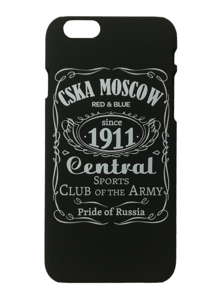 Купить Клип-кейс для iPhone 6 «CSKA MOSCOW 1911» cover, цвет чёрный по Нижнему Новгороду