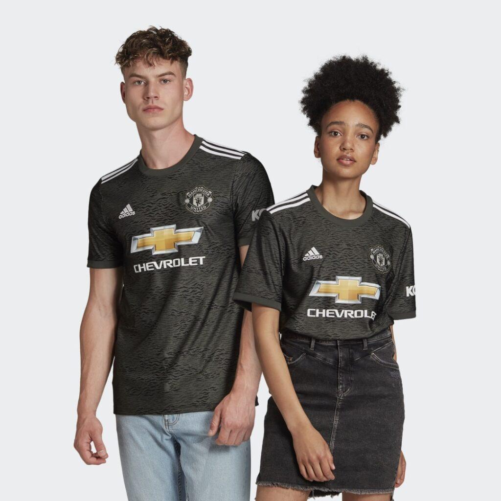 Купить Гостевая игровая футболка Манчестер Юнайтед 20/21 adidas Performance по Нижнему Новгороду