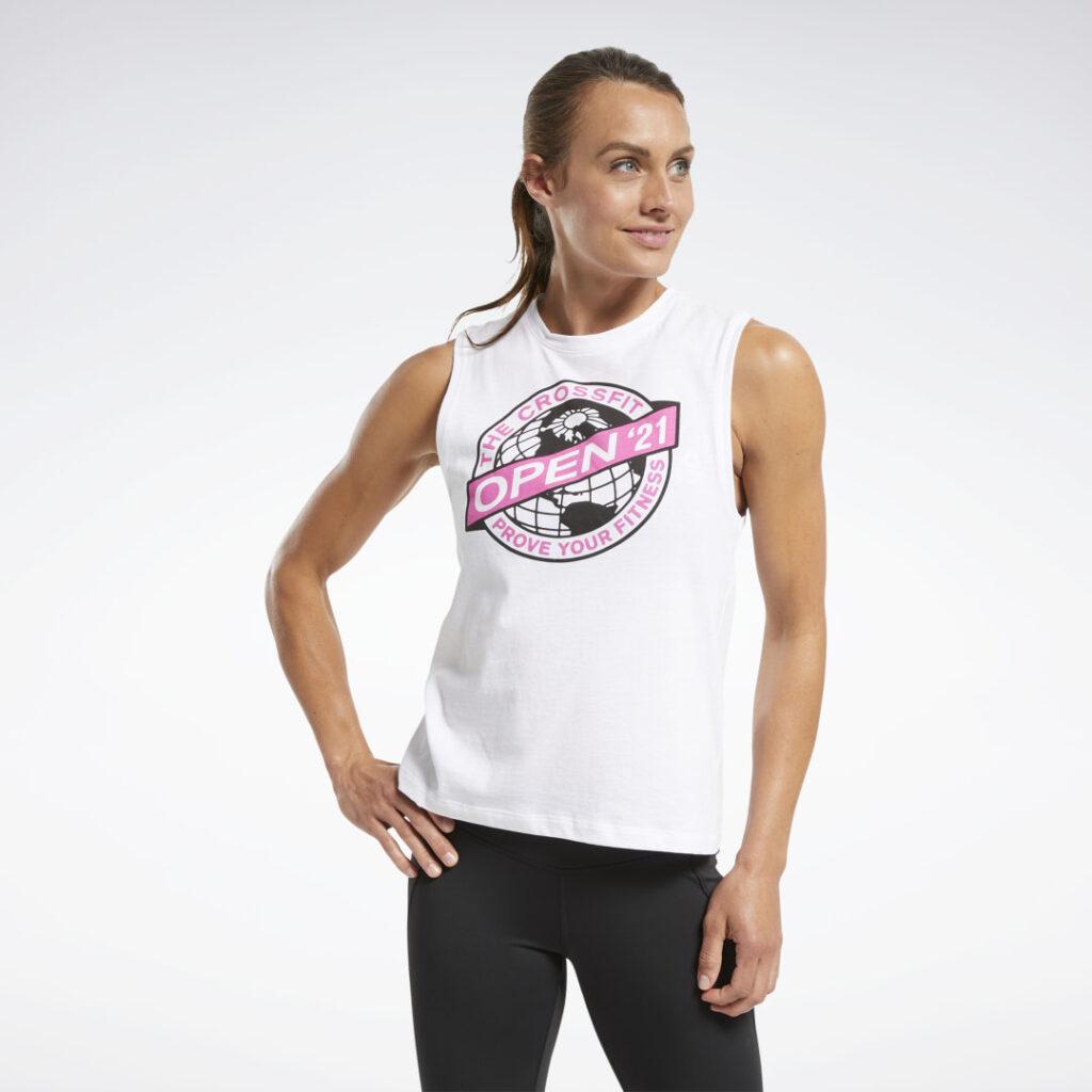 Купить Спортивная майка Reebok CrossFit® Open 2021 по Нижнему Новгороду