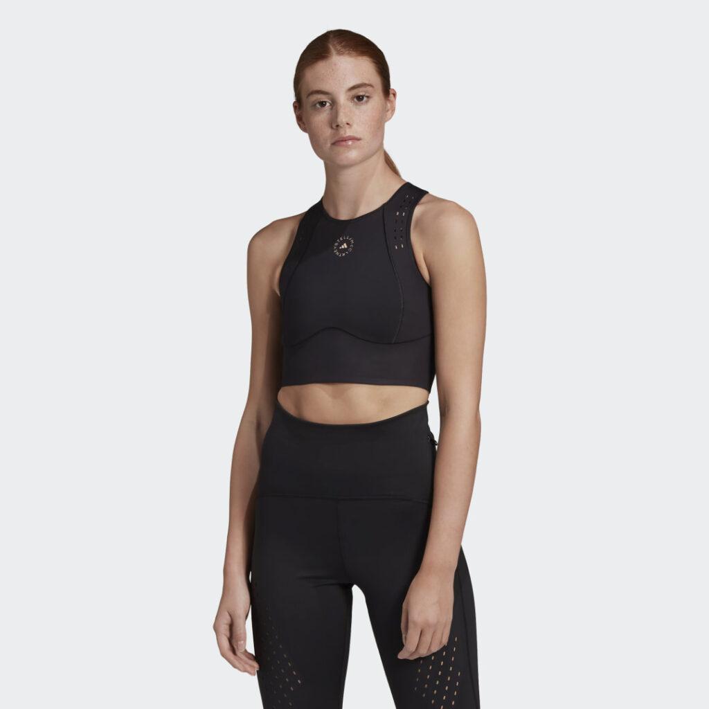 Купить Кроп-топ для фитнеса adidas by Stella McCartney TruePurpose по Нижнему Новгороду