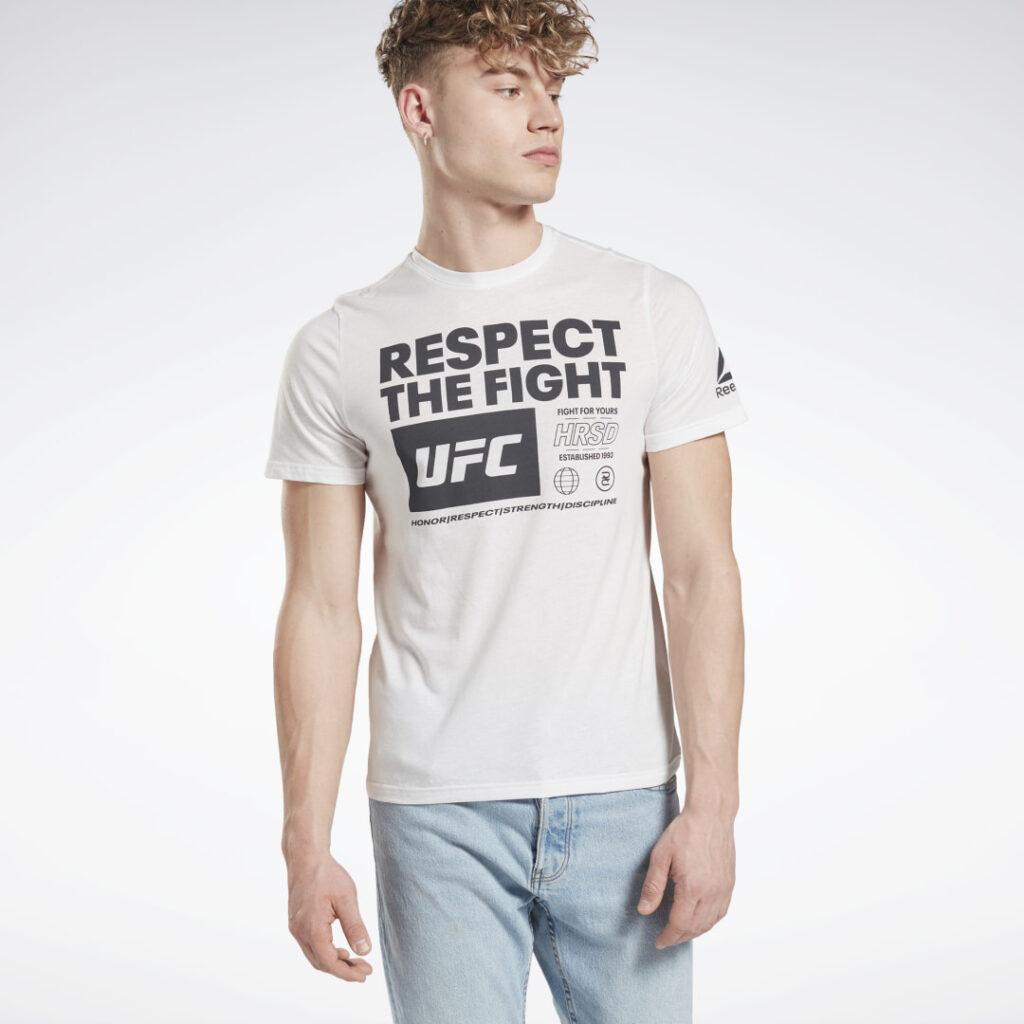 Купить Футболка UFC Fan Gear Text Reebok по Нижнему Новгороду
