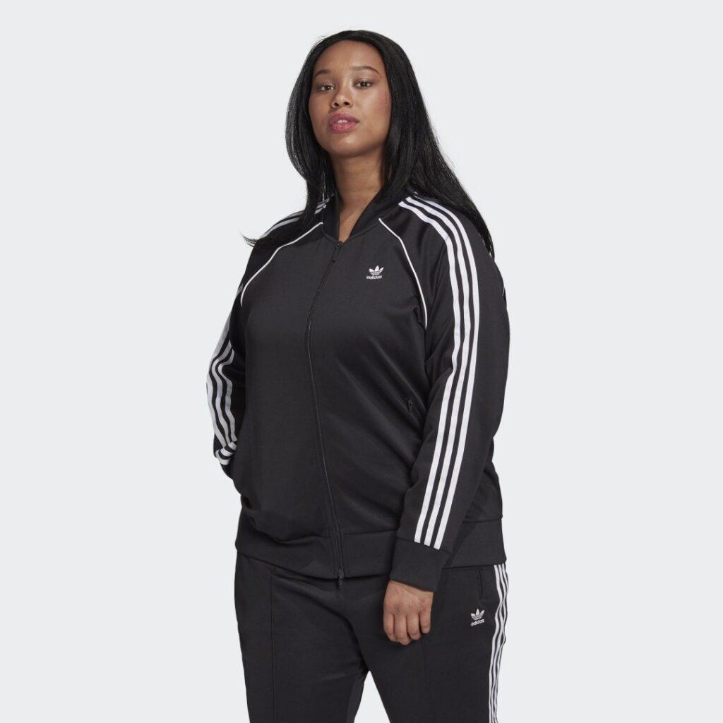 Купить Олимпийка Primeblue SST (Plus Size) adidas Originals по Нижнему Новгороду