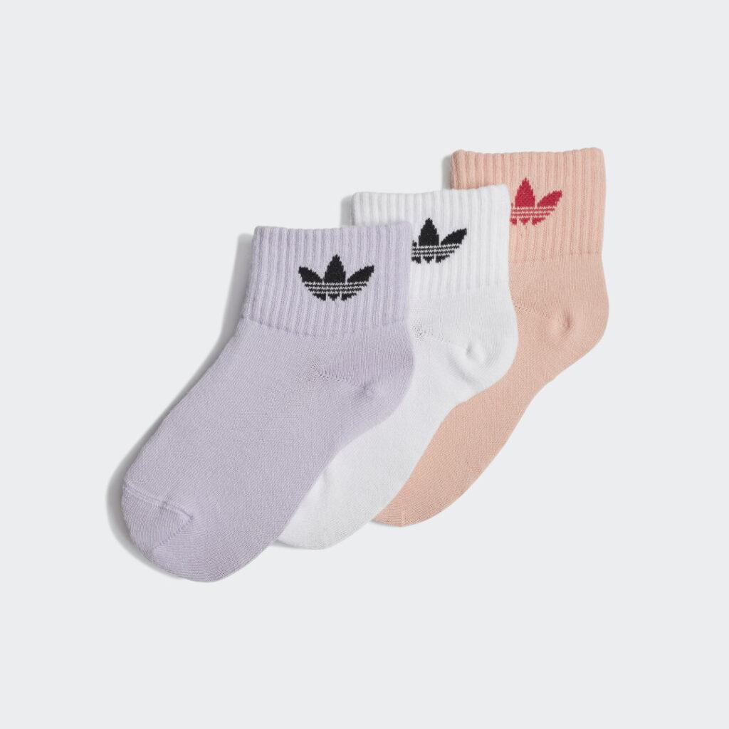 Купить Три пары носков Mid-Ankle adidas Originals по Нижнему Новгороду