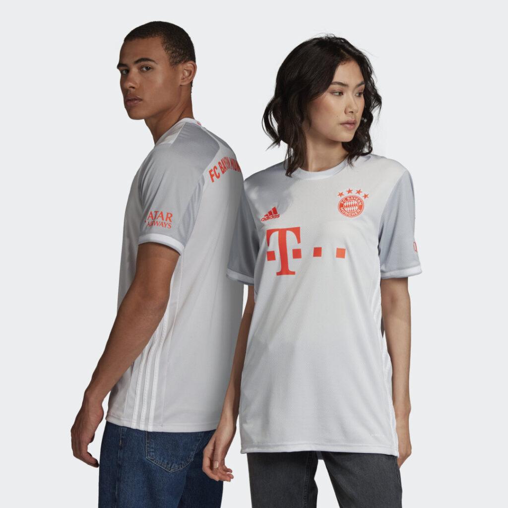 Купить Гостевая игровая футболка Бавария Мюнхен 20/21 adidas Performance по Нижнему Новгороду
