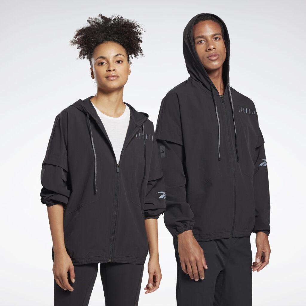 Купить Спортивная куртка LES MILLS® Woven Full-Zip Reebok по Нижнему Новгороду