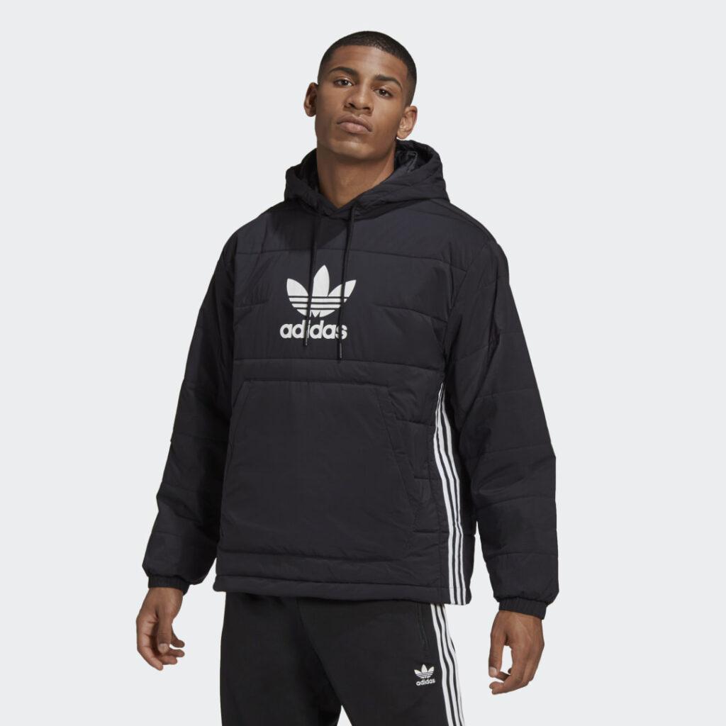 Купить Утепленная куртка-анорак Trefoil adidas Originals по Нижнему Новгороду