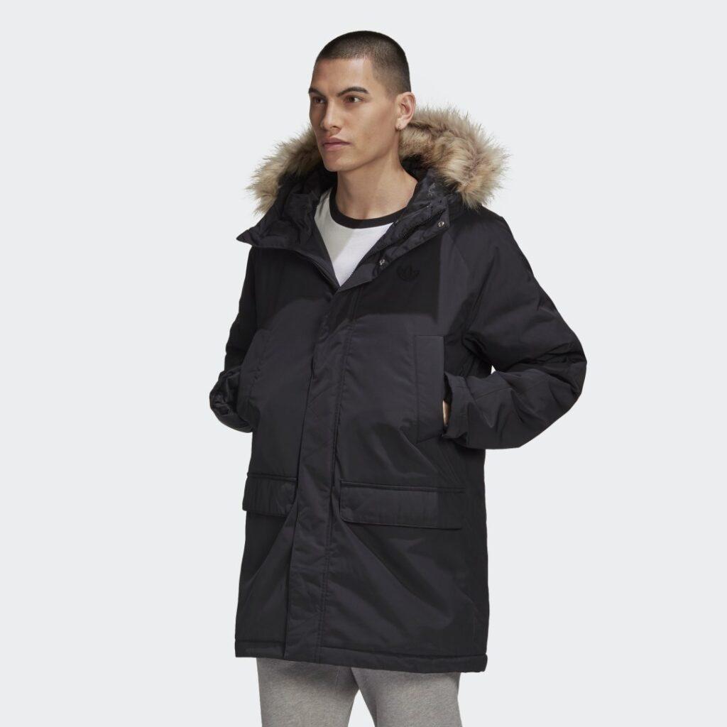 Купить Удлиненная парка Fur adidas Originals по Нижнему Новгороду