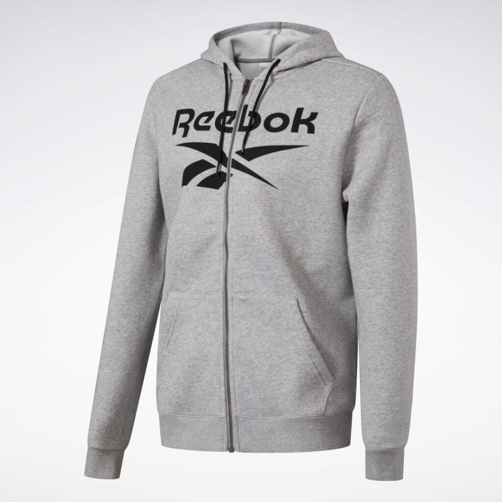 Купить Худи Training Essentials Big Logo Full-Zip Reebok по Нижнему Новгороду