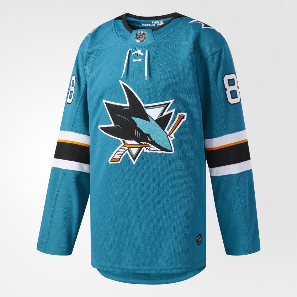 Купить Оригинальная домашняя джерси San Jose Sharks adidas Performance по Нижнему Новгороду
