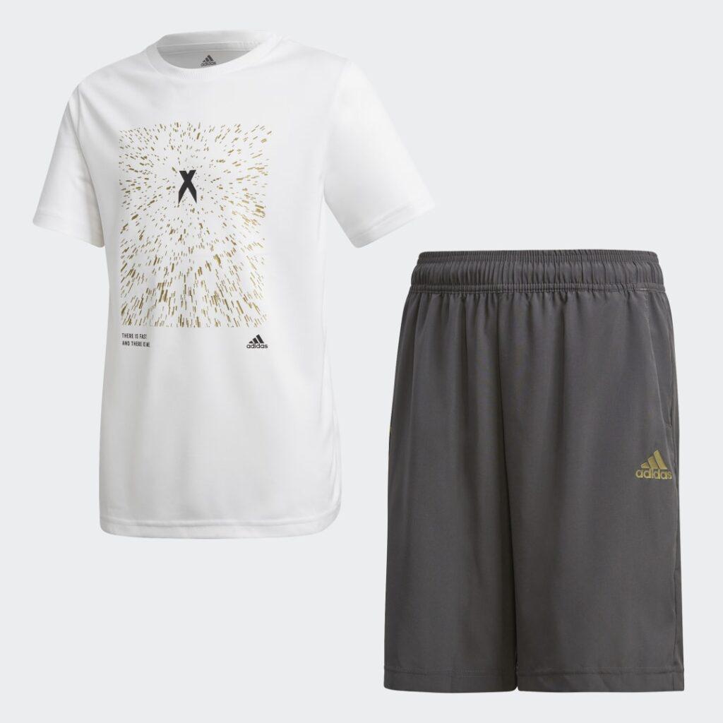Купить Комплект: футболка и шорты X AEROREADY adidas Performance по Нижнему Новгороду