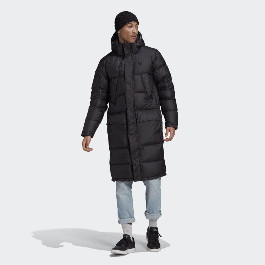 Купить Длинный пуховик с капюшоном adidas Originals по Нижнему Новгороду