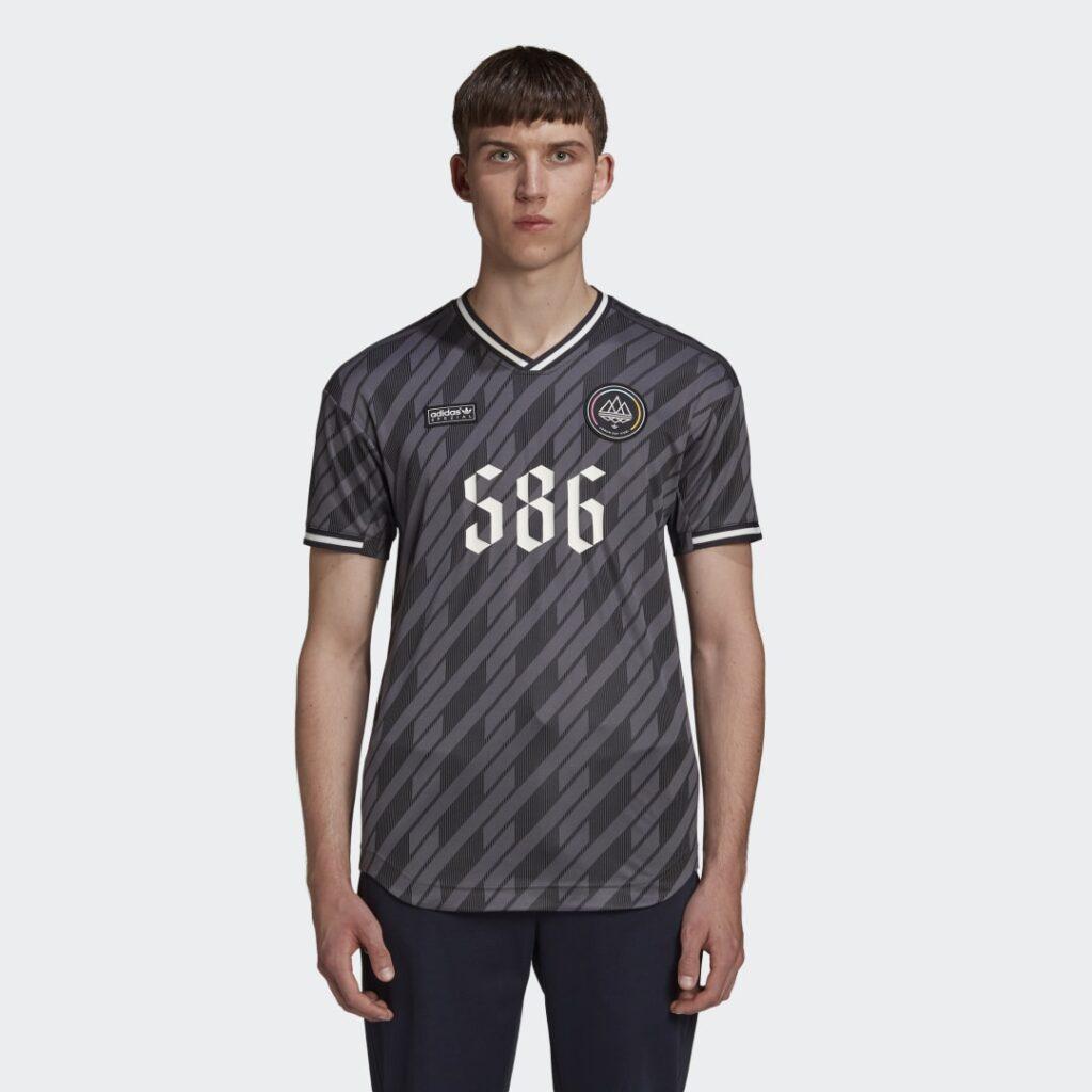 Купить Футболка New Order x adidas SPZL по Нижнему Новгороду