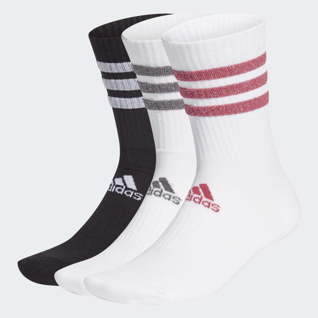 Купить Три пары носков Glam 3-Stripes adidas Performance по Нижнему Новгороду