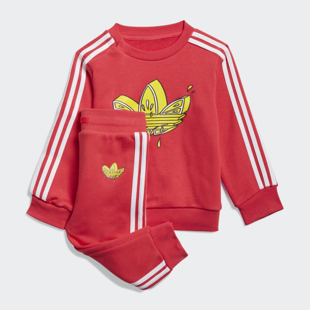 Купить Комплект: джемпер и брюки Graphic Trefoil adidas Originals по Нижнему Новгороду