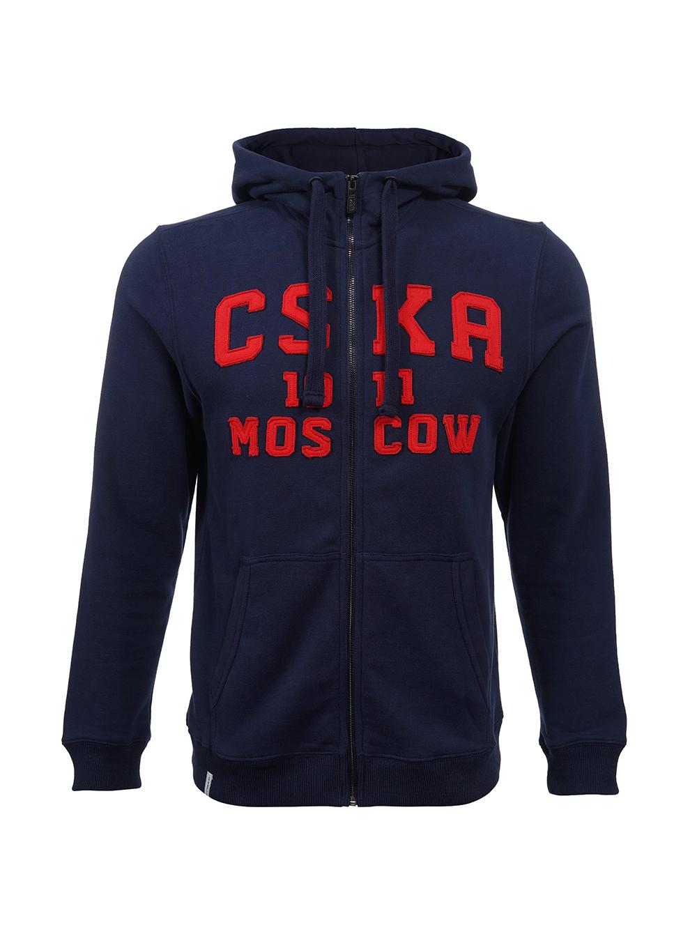 Купить Толстовка на молнии «CSKA MOSCOW est.1911» (XL) по Нижнему Новгороду