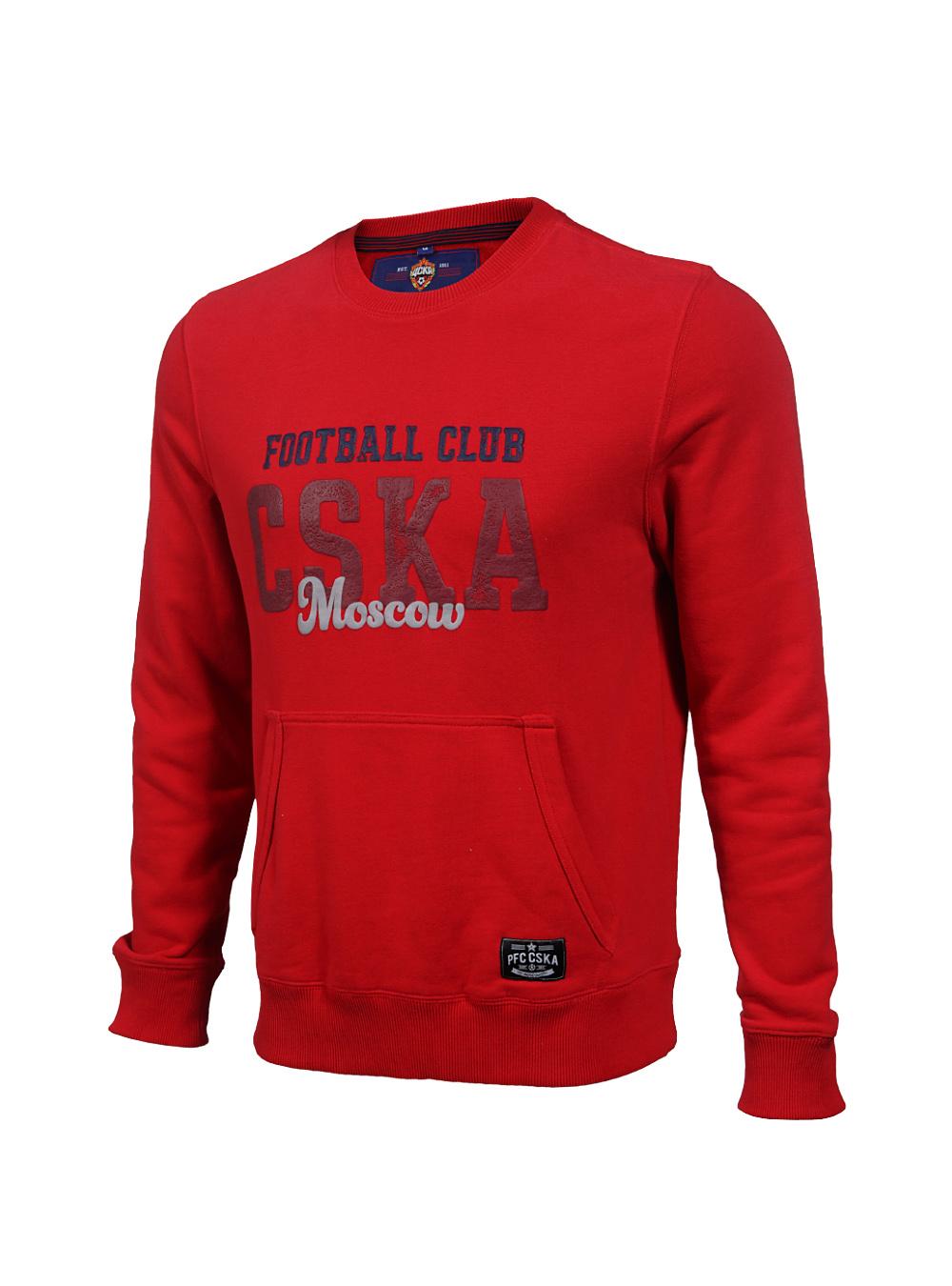 Купить Свитшот «CSKA Moscow», цвет красный (S) по Нижнему Новгороду
