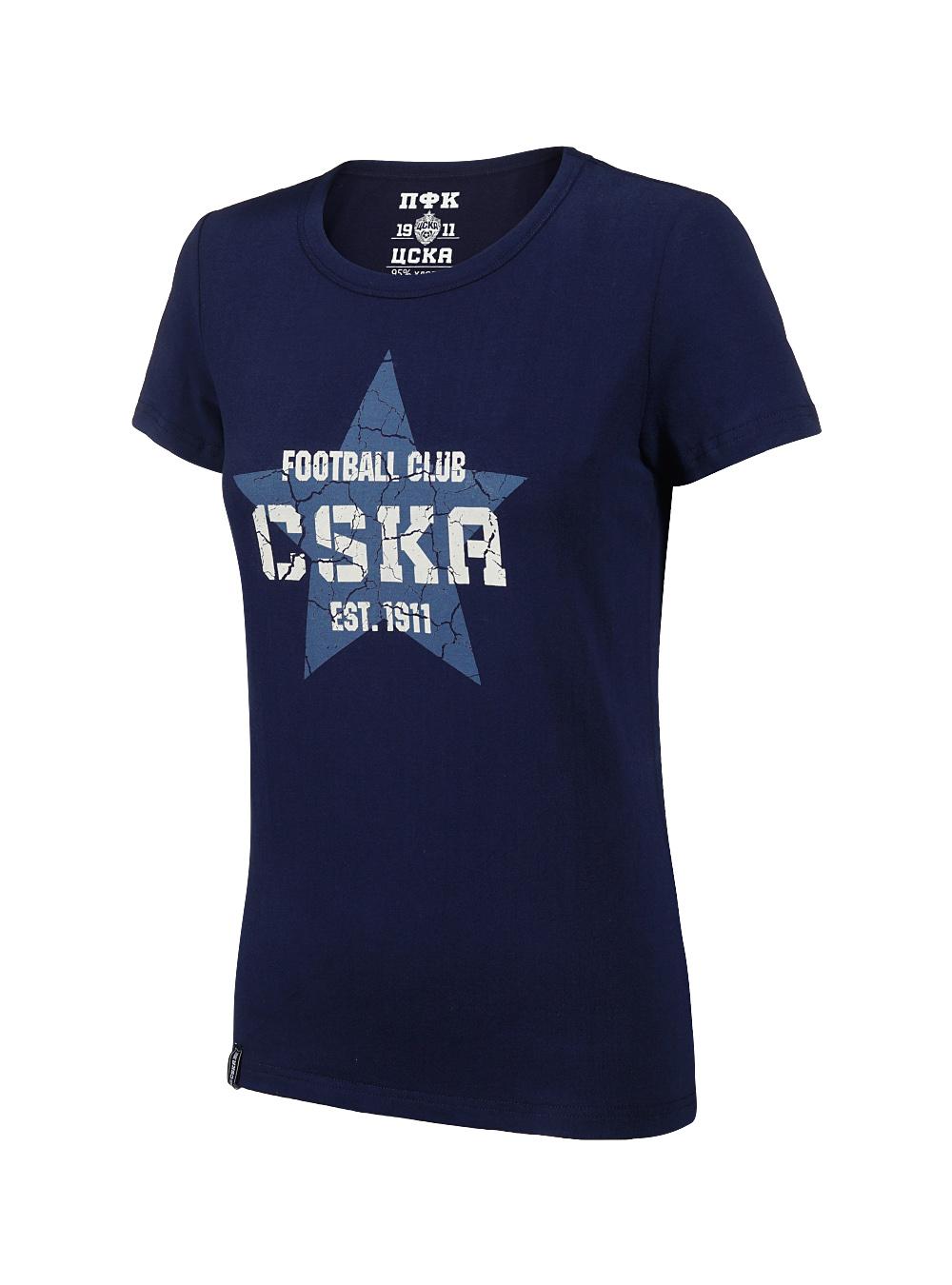 Купить Футболка женская «CSKA. Звезда» (M) по Нижнему Новгороду