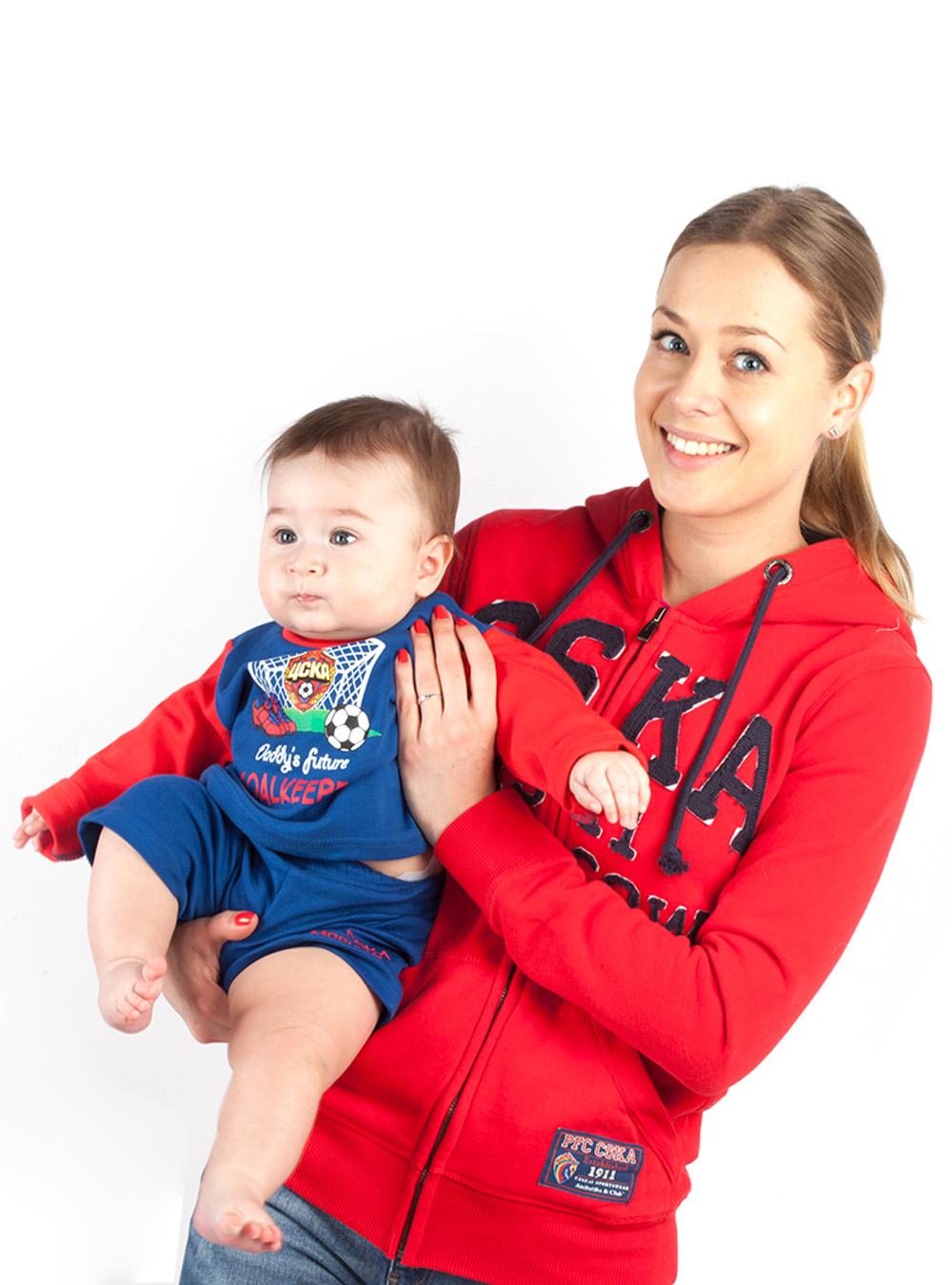 Купить Футболка с длинным рукавом «GOALKEEPER», цвет синий (80 (9-12 мес.)) по Нижнему Новгороду