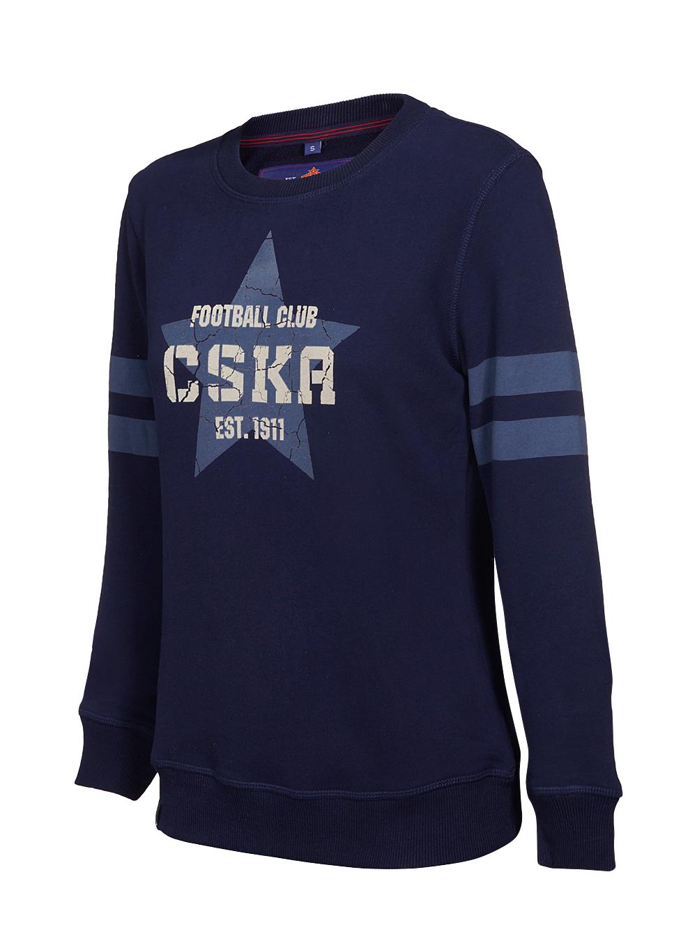 Купить Свитшот женский «CSKA. Звезда» (XL) по Нижнему Новгороду
