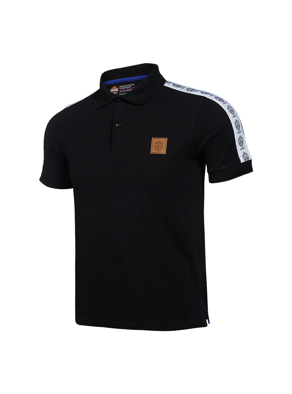 Купить Поло мужское #ЦВБП, цвет чёрный (XL) по Нижнему Новгороду