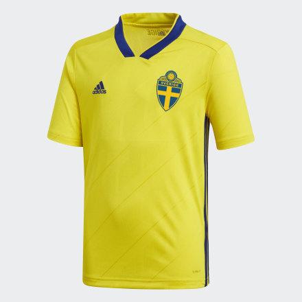 Купить Домашняя игровая футболка сборной Швеции adidas Performance по Нижнему Новгороду