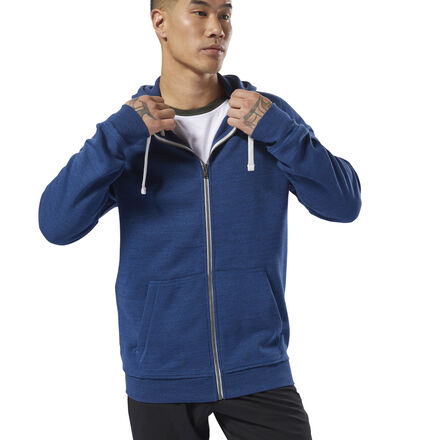 Купить Худи Training Essentials Marble Full-Zip Reebok по Нижнему Новгороду