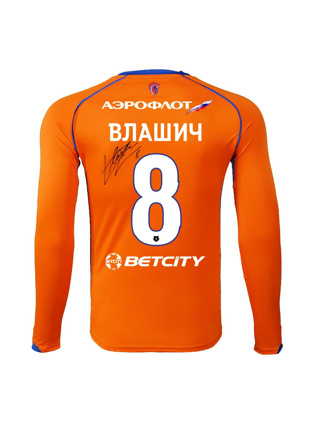 Купить Футболка игровая резервная с длинным рукавом с автографом ВЛАШИЧА (XL) по Нижнему Новгороду