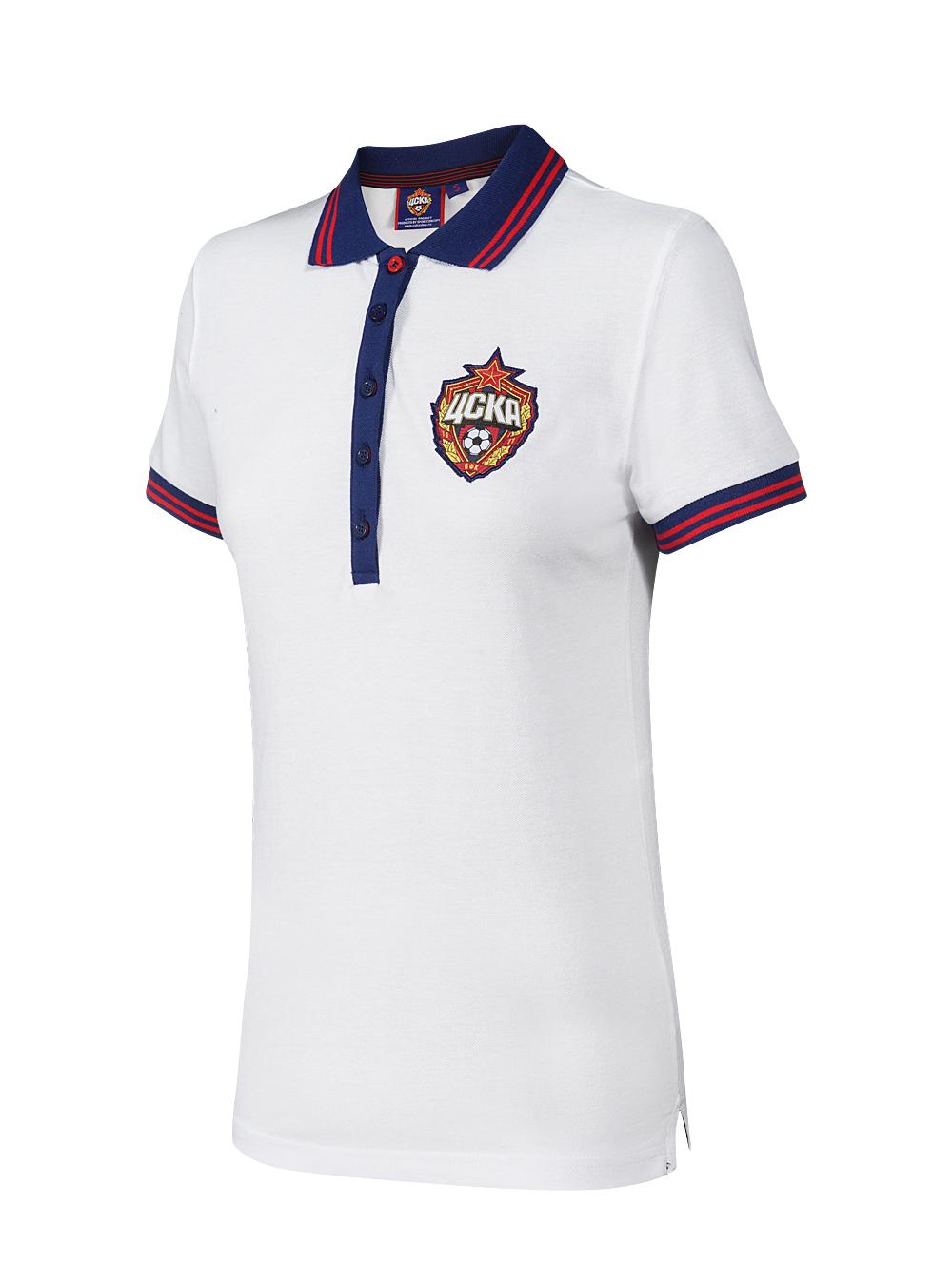 Купить Поло женское белое (XL) по Нижнему Новгороду