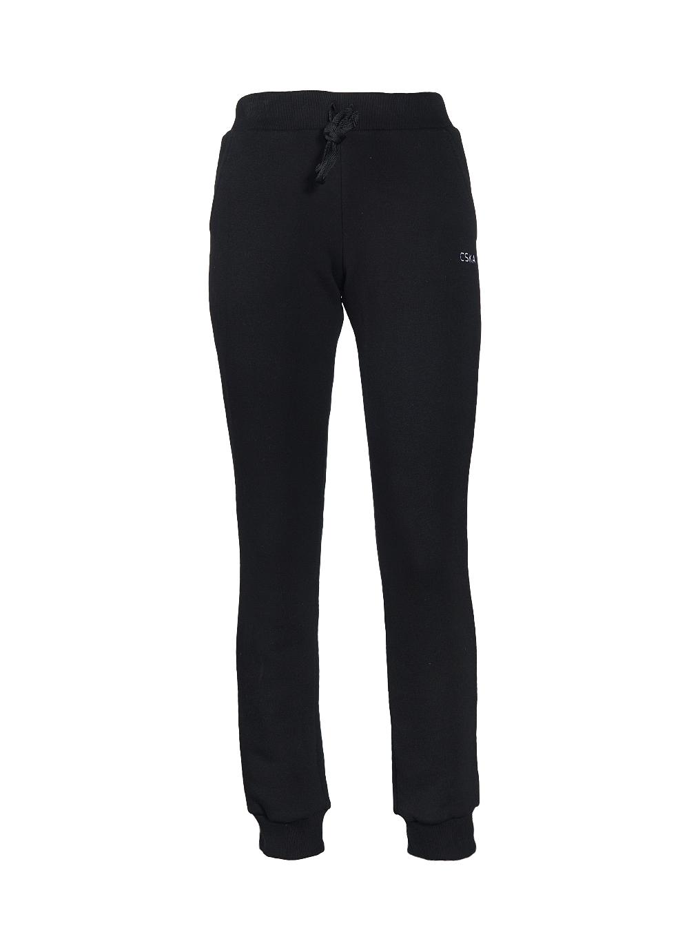 Купить Женский спортивный костюм «CSKA GIRL IN BLACK» (брюки), цвет черный (S) по Нижнему Новгороду