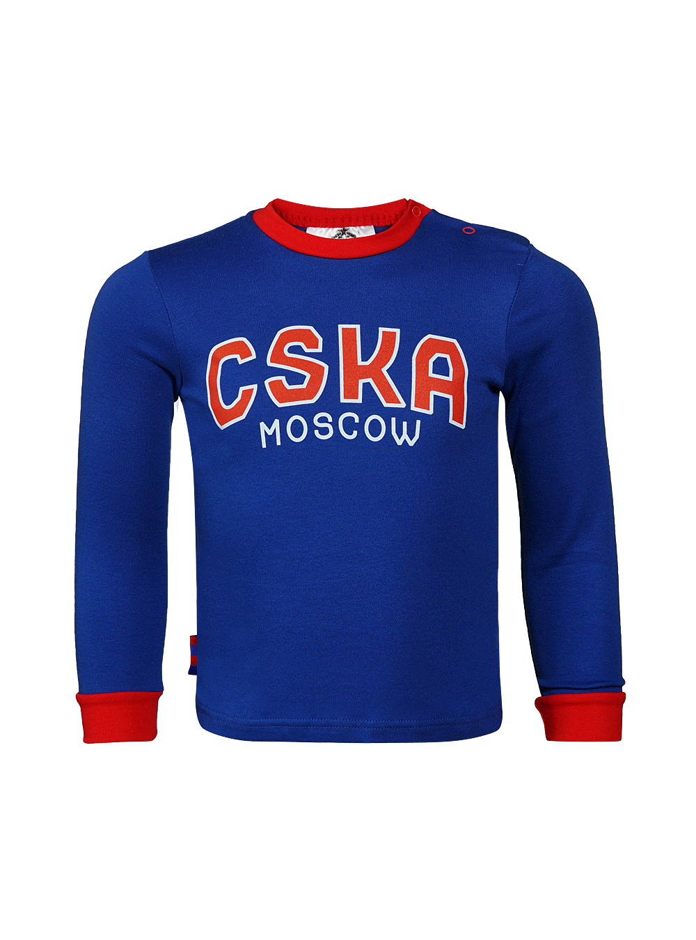 Купить Футболка с длинным рукавом CSKA Moscow синяя (92) по Нижнему Новгороду