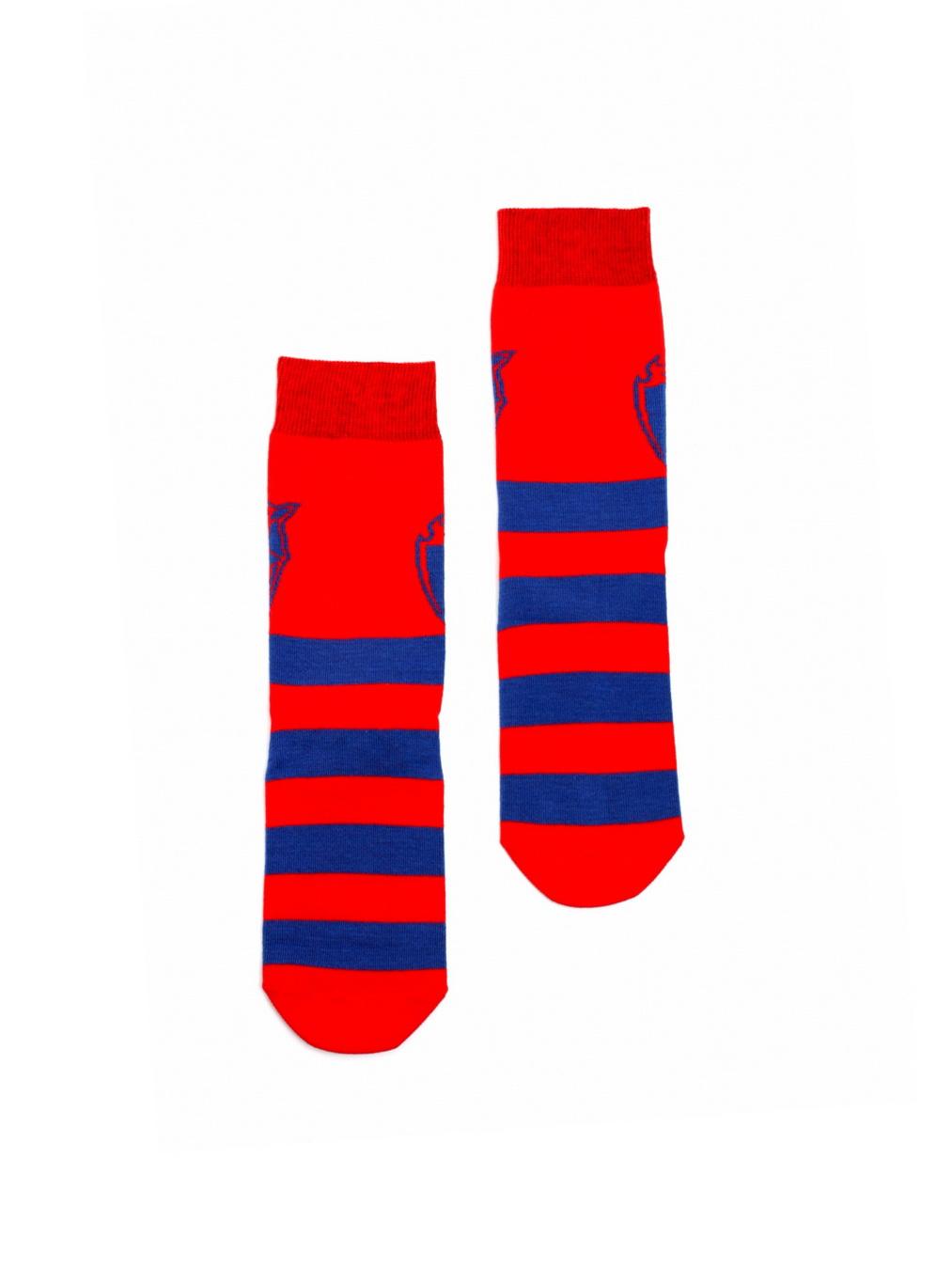 Купить Носки детские Талисман, цвет красно-синий (35-36) по Нижнему Новгороду