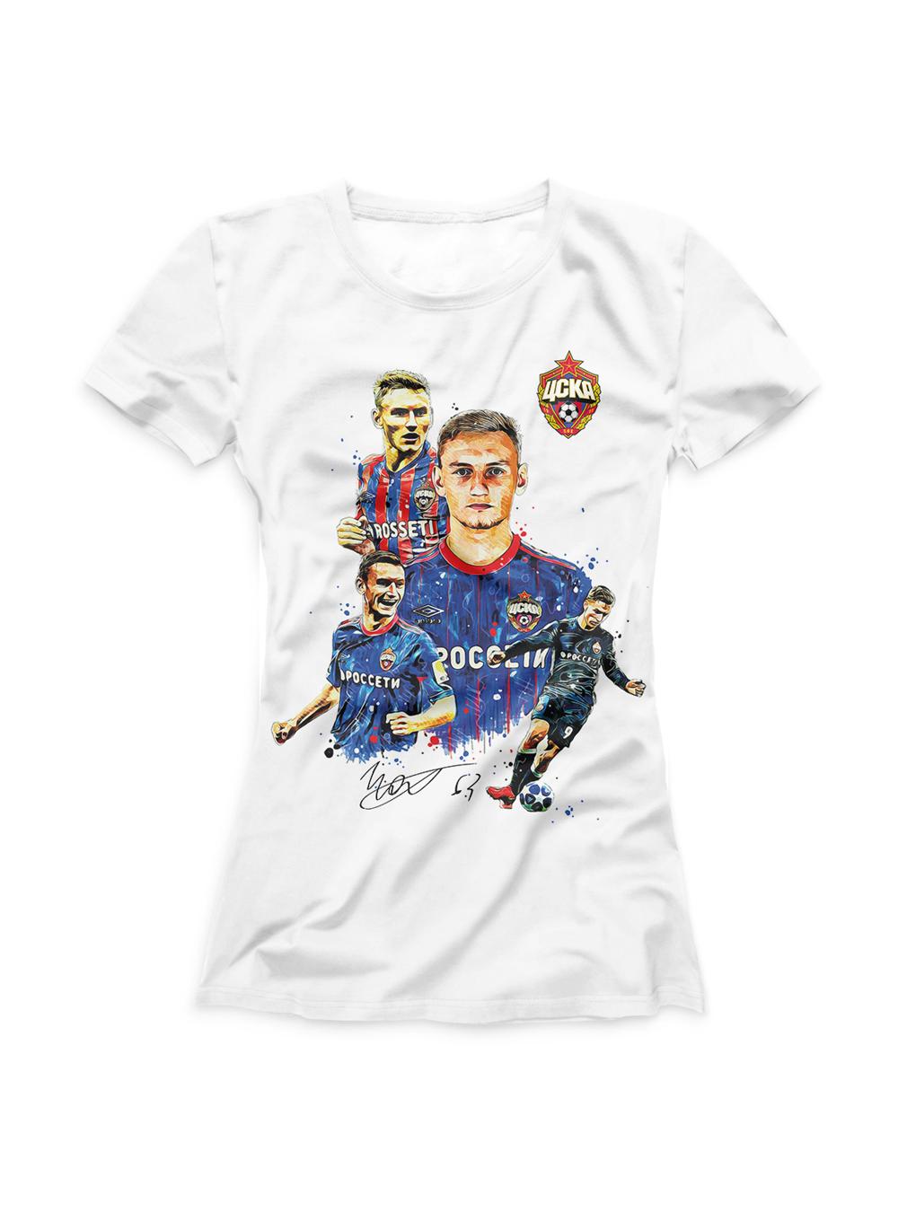 Купить Футболка  женская Чалов акварель (S) по Нижнему Новгороду
