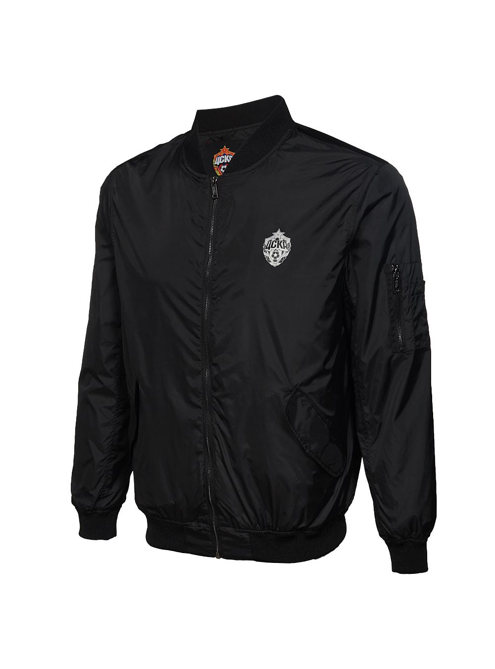 Купить Куртка-бомбер, цвет чёрный (L) по Нижнему Новгороду